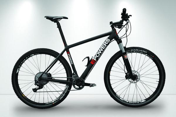 Lichte E Bike : Epowers: lichte hardtail met e motor mountainbike.be